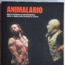 Libros de segunda mano: ANIMALARIO, PLAZA & JANES, 1ª ED. 2005. MUY ILUSTRADO. TEATRO. Lote 157491838