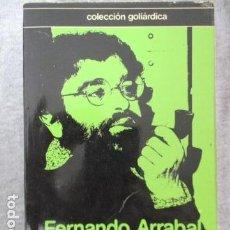 Libros de segunda mano: FERNANDO ARRABAL TEATRO COMPLETO VOLUMEN I. Lote 157845494
