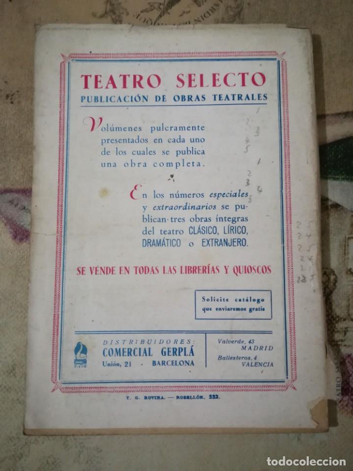 Libros de segunda mano: Don Juan Tenorio - José Zorrilla - Teatro Selecto - 1940 - Foto 2 - 158728706
