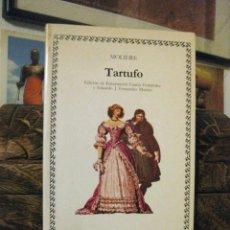 Libros de segunda mano - Tartufo (Molière) Cátedra, letras universales 10. Edición de Encarnación García Fernández TEATRO - 160712118