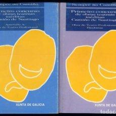 Libros de segunda mano: SEMPRE NO CAMIÑO PRIMEIRO CONCURSO DE OBRAS TEATRAIS INEDITAS CAMIÑO DE SANTIAGO:. Lote 161379074