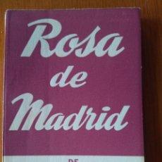 Libros de segunda mano: ROSA DE MADRID, L.FERNANDEZ ARDAVIN- COL.TEATRO N.102- ED ALFIL 1952. Lote 161493657