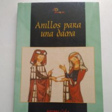 Libros de segunda mano: ANILLOS PARA UNA DAMA/ANTONIO GALA. Lote 161571534