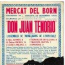 Libros de segunda mano: MERCAT DEL BORN. DON JUAN TENORIO: ANÀLISI D'UNA AUTOGESTIÓ 1976. Lote 162910374