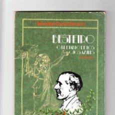 Libros de segunda mano: SEBASTIÁN CUEVAS NAVARRO BESTEIRO O EL DIABLO DE LOS OJOS AZULES 1986 FIRMADO Y DEDICADO. Lote 163500274