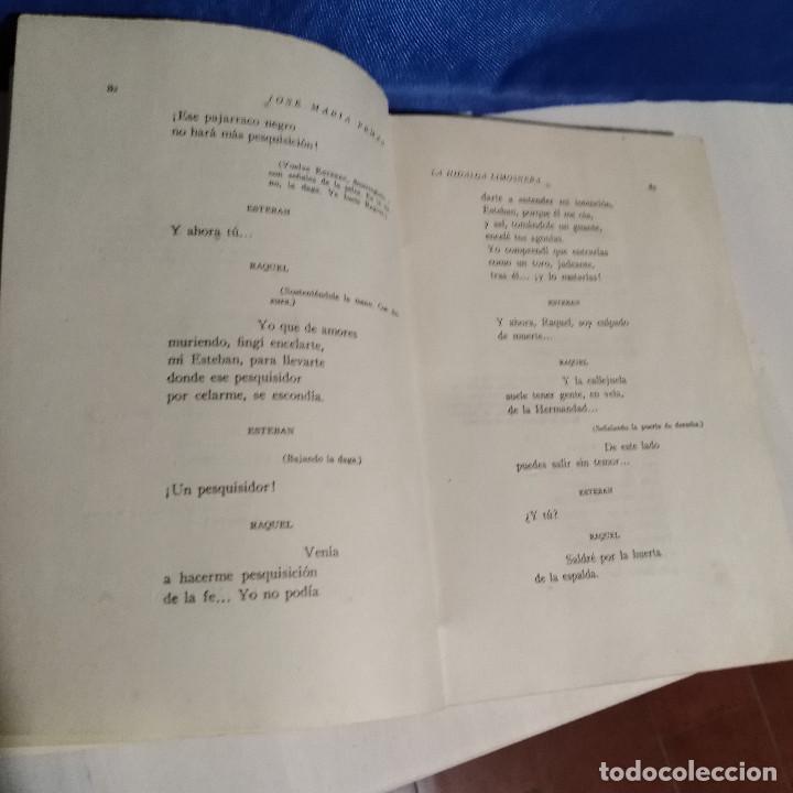 Libros de segunda mano: La Hidalga Limosnera de Jose Maria Pemán - 1944 - Escélier SL - Teatro Madrid - Foto 7 - 165129478