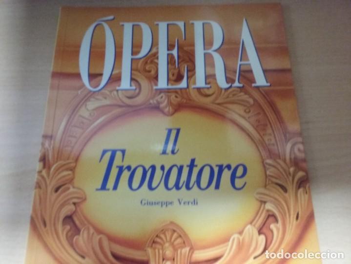 OPERA: IL TROVATORE - GIUSEPPE VERDI (TOMO 24) (EN ESPAÑOL) (Libros de Segunda Mano (posteriores a 1936) - Literatura - Teatro)