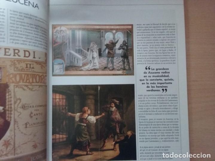 Libros de segunda mano: OPERA: IL TROVATORE - GIUSEPPE VERDI (TOMO 24) (EN ESPAÑOL) - Foto 2 - 165877886