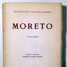 Libros de segunda mano: MORETO, AGUSTÍN - TEATRO. EL LINDO DON DIEGO. EL DESDÉN CON EL DESDÉN - MADRID 1955 - RÚSTICA. Lote 166358328