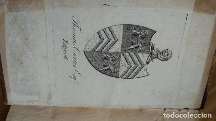 Libros de segunda mano: Antiguo libro de 1735 de Horacio, Impreso en amsterdam, En francés. - Foto 3 - 166535658
