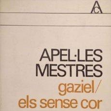 Livres d'occasion: GAZIEL/ELS SENSE COR. Lote 166894856