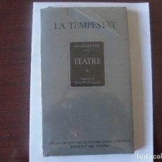 Libros de segunda mano: SHAKESPEARE CATALA - LA TEMPESTAT - TRADUCTOR JOSEP Mª SAGARRA - PRECINTAT. Lote 167729224