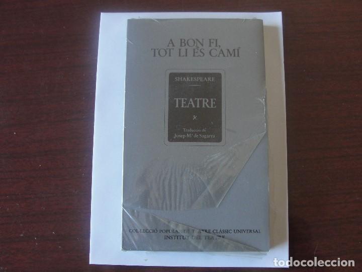 SHAKESPEARE CATALA - A BON FI TOT LI ES CAMI - TRADUCCIO SAGARRA (Libros de Segunda Mano (posteriores a 1936) - Literatura - Teatro)