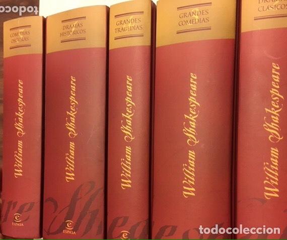 WILLIAM SHAKESPEARE. OBRAS DRAMÁTICAS. ESPASA CALPE (Libros de Segunda Mano (posteriores a 1936) - Literatura - Teatro)