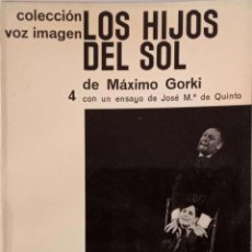 Libros de segunda mano: LOS HIJOS DEL SOL. Lote 168475380