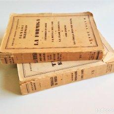 Libros de segunda mano: 1929 EDICIO OBRES COMPLETES DE IGNASI IGLESIAS - 2 TOMOS DE 17 - EN CATALAN. Lote 168749184