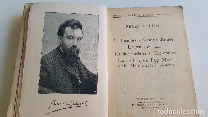 Libros de segunda mano: 1929 EDICIO OBRES COMPLETES DE IGNASI IGLESIAS - 2 TOMOS DE 17 - EN CATALAN - Foto 9 - 168749184