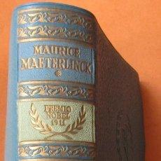 Livros em segunda mão: BIBLIOTECA PREMIOS NOBEL AGUILAR. TEATRO. MAURICE MAETERLINCK. 1958. 1137 PÁGINAS. . Lote 168800856