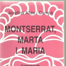 Libros de segunda mano: 3902.- TEATRE - CATALUNYA TEATRAL- EDITORIAL MILLÀ -MONTSERRAT MARTA I MARIA. Lote 168841468