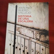 Libros de segunda mano: HISTORIA DE UNA ESCALERA (ANTONIO BUERO VALLEJO) ESPASA. Lote 170183104