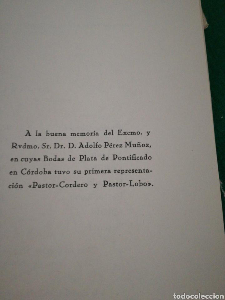 Libros de segunda mano: PASTOR-CORDERO Y PASTOR -LOBO...... TEATRO - Foto 7 - 170200497