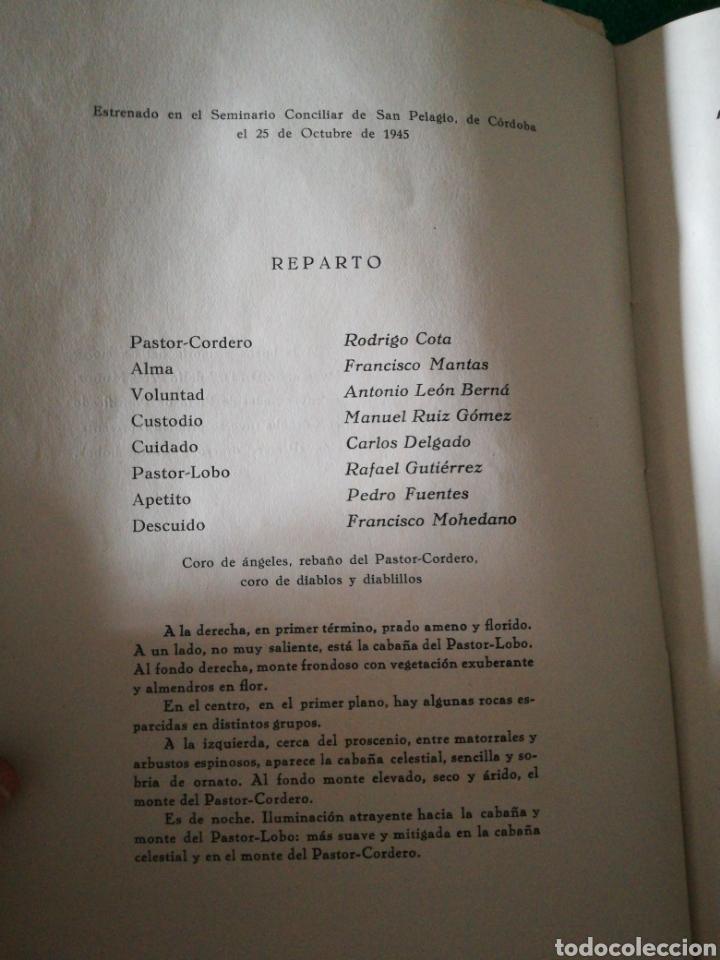 Libros de segunda mano: PASTOR-CORDERO Y PASTOR -LOBO...... TEATRO - Foto 8 - 170200497