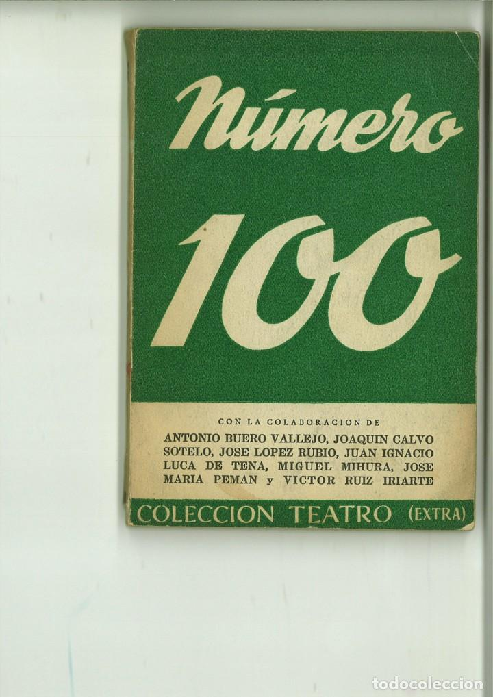 NÚMERO 100. VARIOS (Libros de Segunda Mano (posteriores a 1936) - Literatura - Teatro)