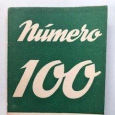Libros de segunda mano: NUMERO 100. EDICIONES ALFIL, MADRID, 1954. Lote 172018369