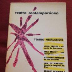 Libros de segunda mano: TEATRO NEERLANDÉS CONTEMPORÁNEO (EDITORIAL AGUILAR). Lote 172393060