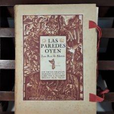 Libros de segunda mano: LAS PAREDES OYEN. JUAN RUIZ DE ALARCÓN. EDIT. A. GELABERT. BARCELONA. 1944.. Lote 173138443