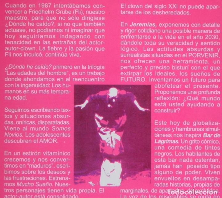 Libros de segunda mano: LOS ULEN - LIBRO PACO TOUS - SANDOVAL QUERO TEATRO ANDALUCÍA JEREMÍAS MANÁ MANÁ BAR DE LÁGRIMAS ARTE - Foto 2 - 176553994