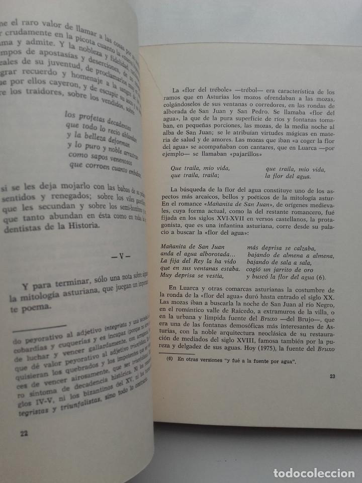 Libros de segunda mano: LA HISTORIA TRISTE DE FERNANDO Y BELISA - J.E.CASARIEGO - ED. LA CRUZ - OVIEDO - 1975 - Foto 4 - 177976714