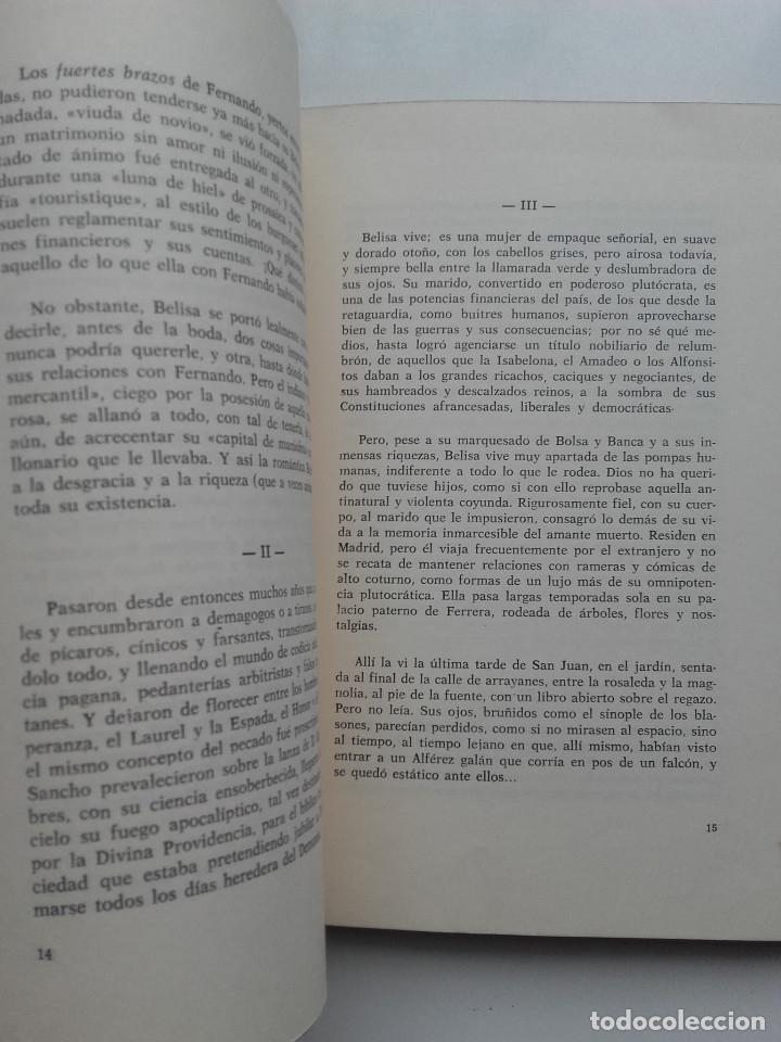 Libros de segunda mano: LA HISTORIA TRISTE DE FERNANDO Y BELISA - J.E.CASARIEGO - ED. LA CRUZ - OVIEDO - 1975 - Foto 5 - 177976714