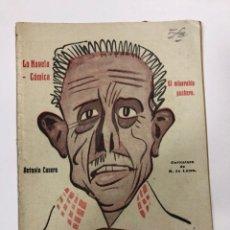 Libros de segunda mano: LA NOVELA COMICA.EL MISERABLE PUCHERO. ANTONIO CASERO. AÑO IV. Nº 144. MADRID, 1919.. Lote 178003467