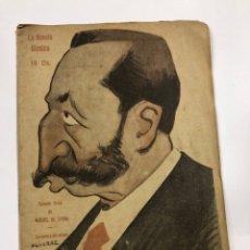 Libros de segunda mano: LA NOVELA COMICA. LOS VETERANOS. MANUEL DE LABRA. AÑO IV. Nº 156. MADRID, 1919.. Lote 178003672
