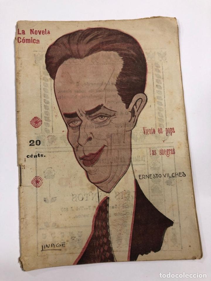 LA NOVELA COMICA. VIENTO EN POPA. FIACRO YRAYZOZ. AÑO IV. Nº 176. MADRID, 1919. (Libros de Segunda Mano (posteriores a 1936) - Literatura - Teatro)