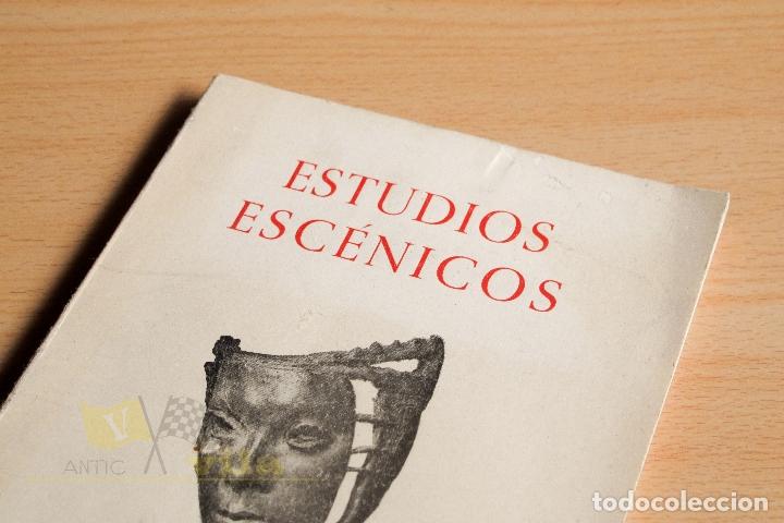 Libros de segunda mano: Estudios Escénicos - Cuadernos del Instituto del Teatro 1 - Guillermo Díaz - Plaja - 1957 - Foto 2 - 178117959
