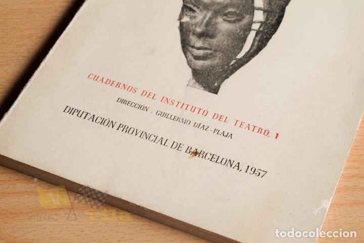 Libros de segunda mano: Estudios Escénicos - Cuadernos del Instituto del Teatro 1 - Guillermo Díaz - Plaja - 1957 - Foto 3 - 178117959