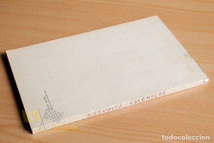 Libros de segunda mano: Estudios Escénicos - Cuadernos del Instituto del Teatro 1 - Guillermo Díaz - Plaja - 1957 - Foto 4 - 178117959