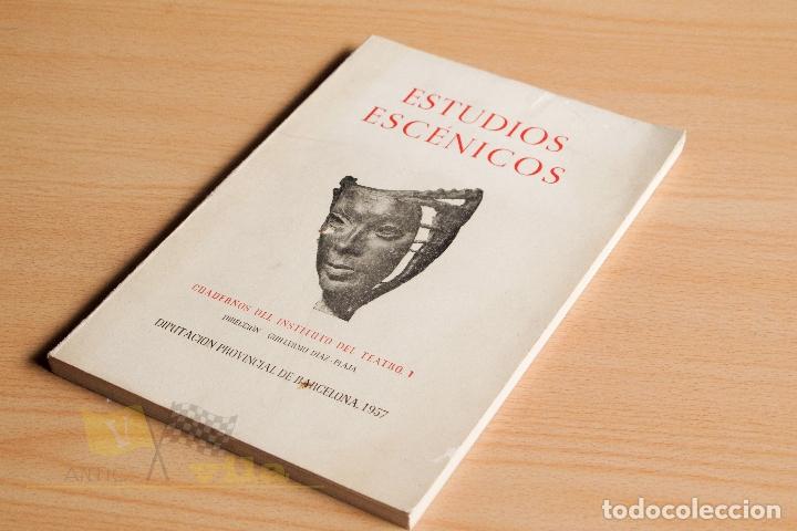 ESTUDIOS ESCÉNICOS - CUADERNOS DEL INSTITUTO DEL TEATRO 1 - GUILLERMO DÍAZ - PLAJA - 1957 (Libros de Segunda Mano (posteriores a 1936) - Literatura - Teatro)