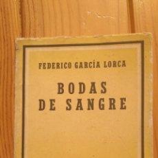 Libros de segunda mano: BODAS DE SANGRE. Lote 178341760