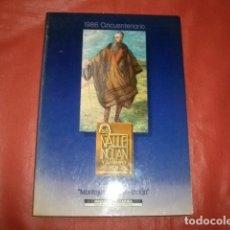 Libros de segunda mano: VALLE INCLÁN Y SU TIEMPO HOY. EXPOSICIÓN: MONTAJES DE VALLE-INCLÁN. 1986. CINCUENTENARIO.. Lote 178446857