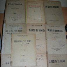 Libros de segunda mano: LOTE 10 LIBRITOS DE TEATRO. Lote 180103472