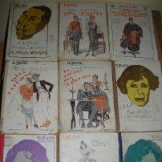 Libros de segunda mano: LOTE 9 LIBRITOS DE TEATRO - EL TEATRO. Lote 180103783