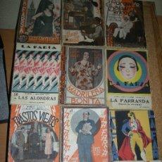 Libros de segunda mano: LOTE 12 LIBRITOS DE TEATRO - LA FARSA. Lote 180103982
