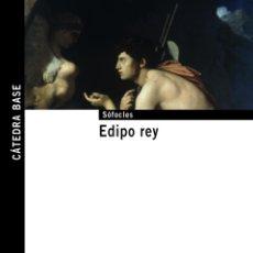 Libros de segunda mano: EDIPO REY. - SÓFOCLES.. Lote 180214978