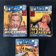 Libros de segunda mano: 3 EJEMPLARES / TEATRO SELECTO / BENAVENTE - MARQUINA / ED. CISNE AÑOS 30. Lote 180884870