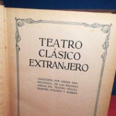 Libros de segunda mano: TEATRO CLÁSICO EXTRANJERO / EDICIONES HYMSA, 1934. Lote 181193272