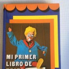 Libros de segunda mano: MI PRIMER LIBRO DE TEATRO-TEATRO PARA LA ESCUELA-AULA TEATRO INFANTIL-EVEREST. Lote 181425553