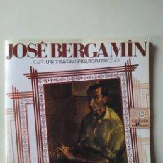 Libros de segunda mano: JOSÉ BERGAMÍN. UN TEATRO PEREGRINO. CUADERNOS EL PÚBLICO 39, 1989. Lote 182014138